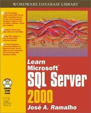 Learn Microsoft SQL Server 2000 (Wordware Database Library)