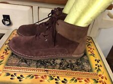 Clarks Collection Tamitha Key Women's Lace Up Cushion Brown Ankle Boots Sz 8.5M