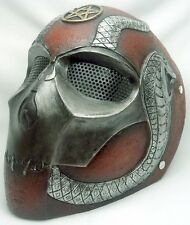 "New! Army of Two ""Cobra 1"" SlipKnot Custom Fiberglass Paintball / Airsoft Mask"