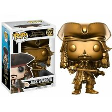 Funko Pop Vinyl Pirates of The Caribbean - Jack Sparrow Gold Hot Topic T13