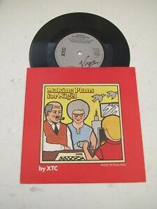 "XTC – Making Plans For Nigel 1979 UK 7"" Vinyl NEAR MINT"
