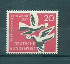 UCCELLI - BIRDS WEST GERMANY BRD 1957 International Week Letter