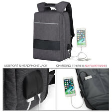 "Rucksack 17,3"" Notebooktasche Notebook Laptop Tasche Backpack USB 17 Zoll"