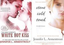 Jennifer L Armentrout Young Adult Romance Series DARK ELEMENTS Paperback Set 1-2