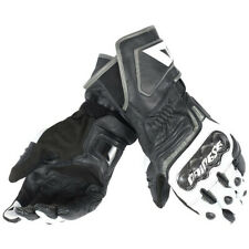 Dainese Carbon D1 Long Street Motorcycle Gloves Black White Anthracite Medium
