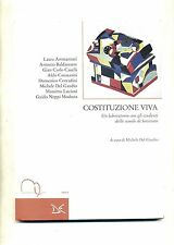 AA/VV # COSTITUZIONE VIVA # Meridiana Libri 1997