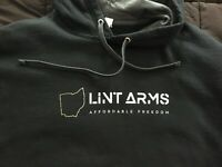 Fruit of the Loom Sofspun Hoodie-Black Size Extra Large