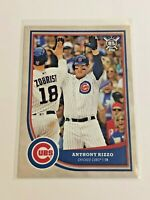 2018 Topps Big League Baseball Base Card - Anthony Rizzo - Chicago Cubs