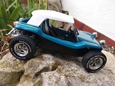 Volkswagen Dune Buggy Meyers Manx bleu Solido echelle 1:18 longueur 17cm neuve