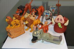 lot of vintage figure disney lion king ,mcdonald toys etc..nice !!