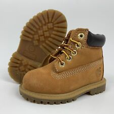 Timberland Toddler Boy's Size 4.5 Genuine Leather Boots