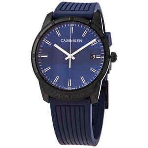 Calvin Klein Evidence Quartz Blue Dial Men's Watch K8R114VN
