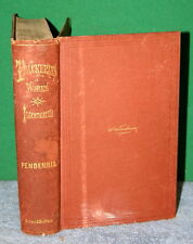Vintage Book - The History of PENDENNIS W M Thackeray 1867 Harper Brothers NY