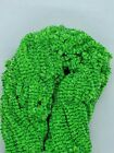 5 YARDS GREEN LANTERN NEW AGE CRYSTAL CHENILLE Fly & Jig Tying You Pick Size