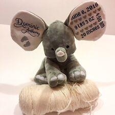 Baby Elephant Birth Announcement. Birth Announcement. Birth Information