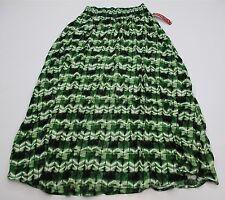 new MERONA SH1532 Women's Size XS Boho Tie Dye Print Woven Summer Maxi Skirt