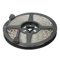 5M RGB 300 5050 LED Flexible Light Strip Non-waterproof DC12V D3C4