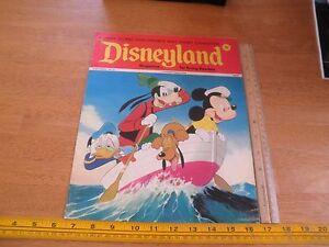 Disneyland Magazine 1973 Mickey Goofy PLuto life boat Donald wraparound cvr #61