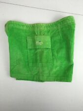 Vtg 90s RUSTY Lime Green Corduroy Beach Casual Shorts Size 7 Short And Cute USA