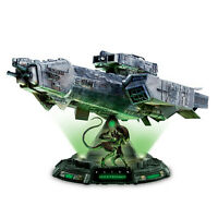 "Alien Movie Ship Nostromo Alien Figure Statue Illuminated 13"" Long 10"" High SALE"