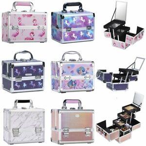 Large Vanity Beauty Case Make up Cosmetics Nail Art Storage Box Girl Ideal Gift