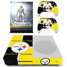 Xbox One S Slim Console Vinyl Skin Decals NFL Steelers Pittsburgh Steelers Cover