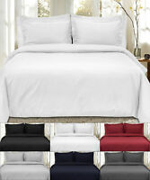 White Comforter Alone or with Color Duvet Cover - 6 Piece Bedroom Set