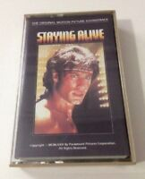 Staying Alive Movie Soundtrack Cassette Tape Vintage Bee Gees Frank Stallone