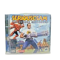 Serious Sam: The Second Encounter (PC, 2002) Complete w/ Manual PC Game...