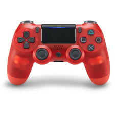 Sony Playstation 4 PS4 Controller Wireless Dualshock 4 V2 Crystal Gamepad Red