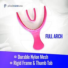 30 Dental Impression Bite Registration Triple Trays Molding Pink Full Arch