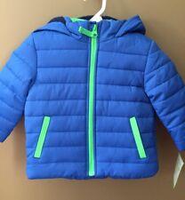 Boys 12 Months Carters Winter Puffer Hooded Jacket NEW...
