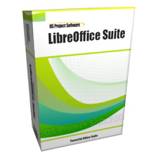 Libre Office 2019 Professional Edition Word Processor Microsoft Windows Mac Plus