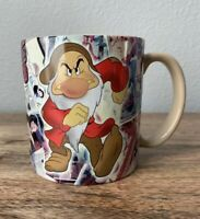 Determined Grumpy Coffee Cup Mug Disney Store Exclusive Snow White Seven Dwarfs