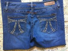 Seven 7 Jeans Women's Jeans Size 31 Skinny Cute Stitched Jeweled Pockets