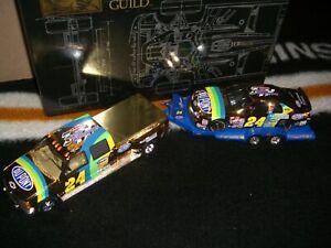 1/24 Brookfield 1999 Trackside set #24 Jeff Gordon 3 Time Champ Gold