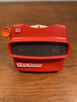 Viewmaster 3D Vintage Red Viewer Toy, Works Great! Comes with (1) Yu-Gi-Oh disc