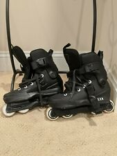 Usd Aeon 60mm Basic 2020 Aggressive Inline Skates Mens Size Us 8/9 Dual Fit