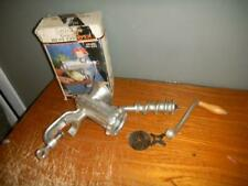 Universal Gourmet Meat Chopper Model No. 333 NICE Complete