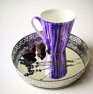 "Coffee or tea mug ""Purple evening dream"""