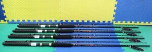 """Okuma Classic Pro GLT Copper/Leadcore Trolling Rod 8' 6"""" CP-CL-862M 4-Pack"""