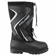 Polaris Trail Black Waterproof Insulated ADULT SIZE 9 Snowmobile Boots 286419409