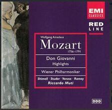 CD Mozart-Don Giovanni Vienna Filarmonica EMI RED LINE | nuovi 724356982420