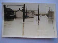 Apollo PA Flood RPPC Warren Avenue at 9th Street March 18, 1936 EKKP Postcard