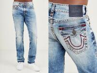 True Religion $389 Men's Ricky Relaxed Straight Super T Jeans - MDA859N23M