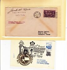 "#776 Cotulla TEXAS Centennial 7/3/1936 ""Celebration"" + 1 Other: La Salle County!"