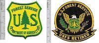US Forest Service USFS Hotshot Wildland  Fire Crew & USFS Retired Vel Hooks gr y