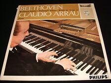 BEETHOVEN WALDSTEIN<>CLAUDIO ARRAU<>Lp Vinyl~Neth. 1st Press<>PHILIPS 835 212 AY