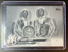 2018 Topps Series 2 #389 AARON JUDGE Award Show Negative Parallel SP NY Yankees