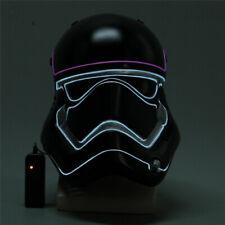 Star Wars Imperial Stormtrooper Cosplay Mask LED Light Helmet Halloween Party